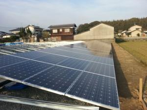 太陽光パネル設置工事 古賀市 写真